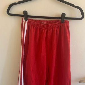 red brandy melville pants